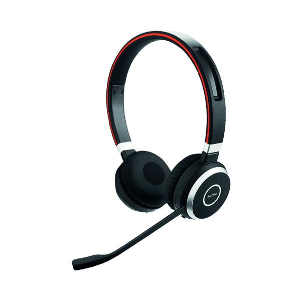 Jabra Evolve 65 UC Duo Bluetooth Headset 52659