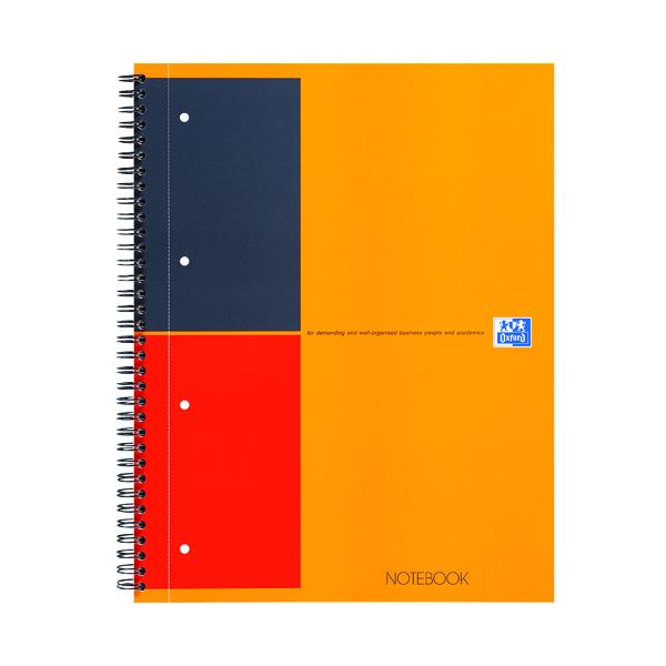 Unspecified Oxford International A4 Plus Wirebound Hardback Notebook 100104036