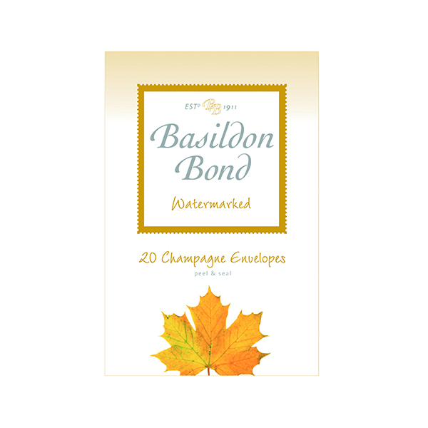 Envelopes Basildon Bond Champagne Envelope 95 x 143mm (200 Pack) 100080069