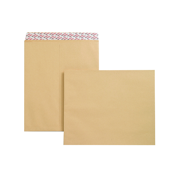 Plain New Guardian Envelope 444x368mm Pocket Peel and Seal 130gsm Manilla (125 Pack) B27713