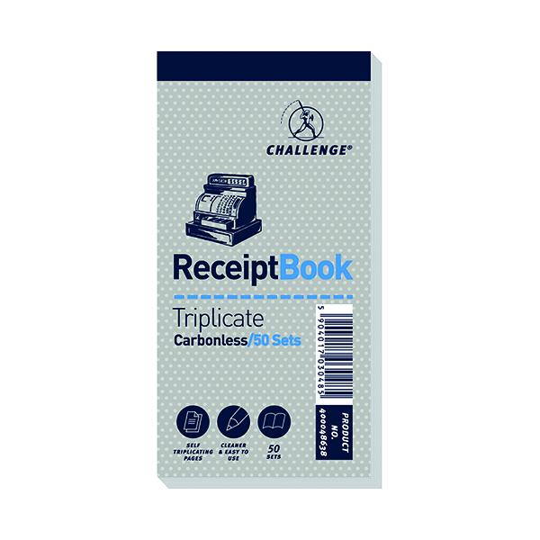 Triplicate Challenge Trip Book 70x140 Receipt (10 Pack) 400048638