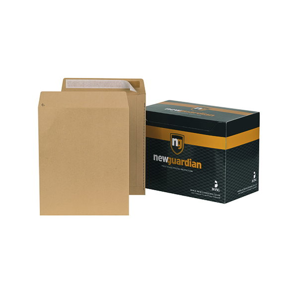 New Guardian C3 Envelope 457x324mm Pocket Peel and Seal 130gsm Manilla (125 Pack) C27013