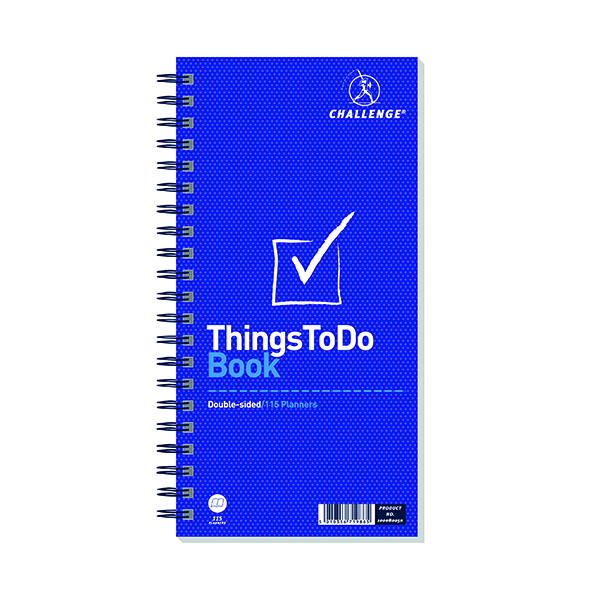Other Challenge Wirebound Things To Do Today Pad 280x141mm 100080050