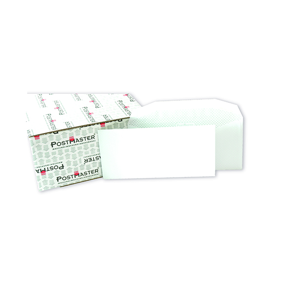 Postmaster DL Envelope 114x235mm Gummed 90gsm White (500 Pack) F29151