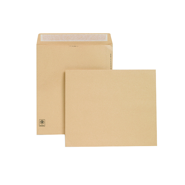 Plain New Guardian Envelope 330x279mm Pocket Peel and Seal 130gsm Manilla (125 Pack) H23213