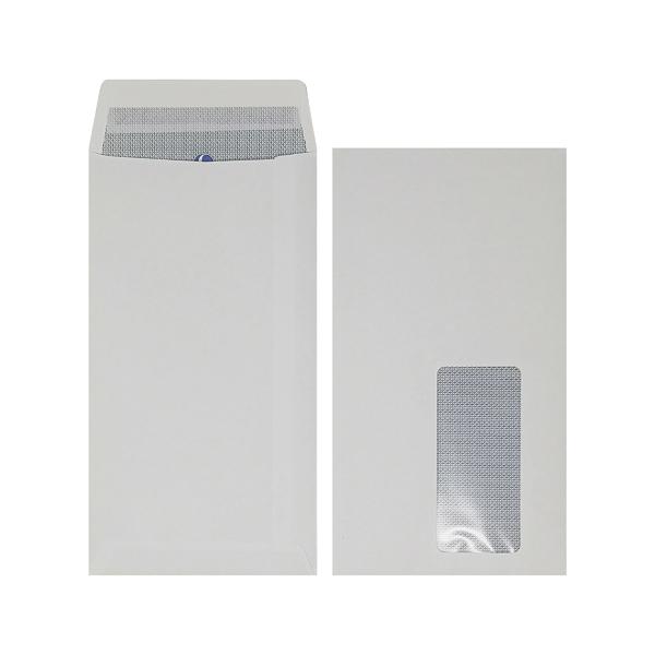 Plus Fabric DL Window Envelope Peel and Seal (500 Pack) J26671