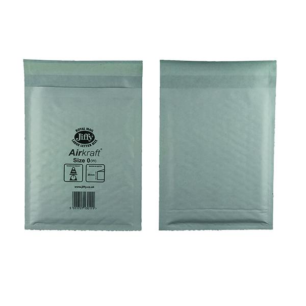 Jiffy AirKraft Bag Size 0 140x195mm White (100 Pack) JL-0