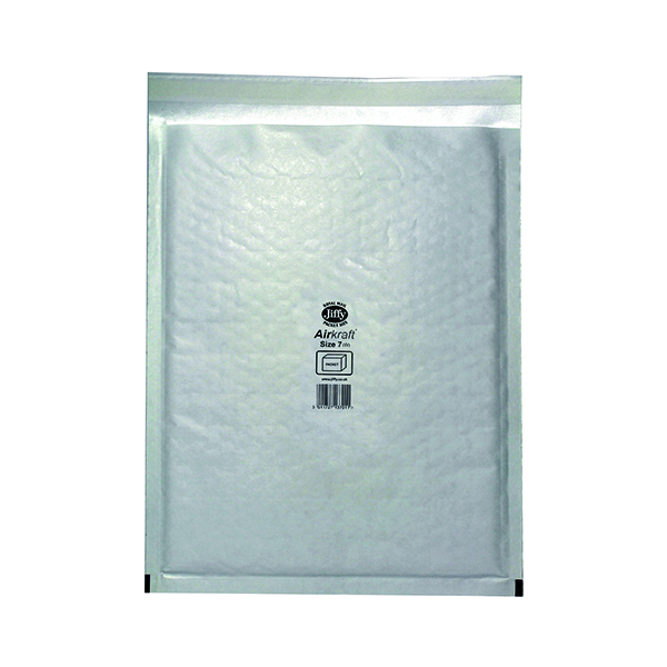Bubble Jiffy AirKraft Bag Size 7 340x445mm White (50 Pack) JL-7