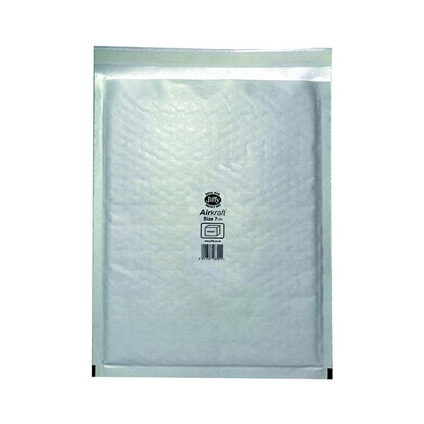 Jiffy AirKraft Bag Size 7 340x445mm White (50 Pack) JL-7