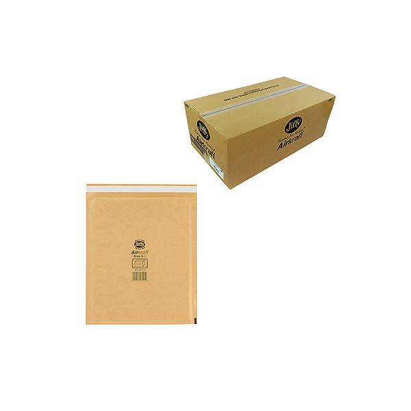 Jiffy AirKraft Bag Size 5 260x345mm Gold (50 Pack) JL-GO-5