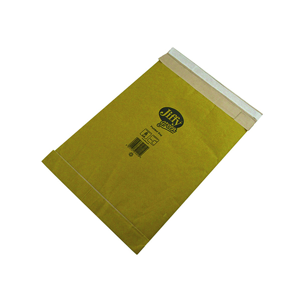 Padded Jiffy Airkraft Bag Size 5 245x381mm Gold PB-5 (10 Pack) JPB-AMP-5-10