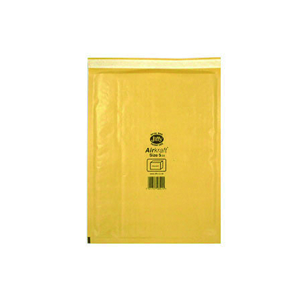 Jiffy AirKraft Bag Size 5 260x345mm Gold GO-5 (10 Pack) MMUL04605