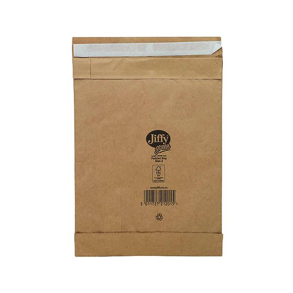 Padded Jiffy Padded Bag Size 2 195x280mm Gold PB-2 (100 Pack) JPB-2