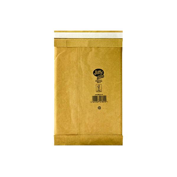 Padded Jiffy Padded Bag Size 3 195x343mm Gold PB-3 (100 Pack) JPB-3