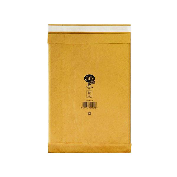 Padded Jiffy Padded Bag Size 5 245x381mm Gold PB-5 (100 Pack) JPB-5