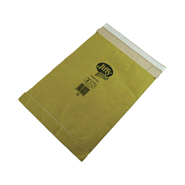 Jiffy Padded Bag Size 8 442x661mm Gold PB-8 (50 Pack) JPB-8