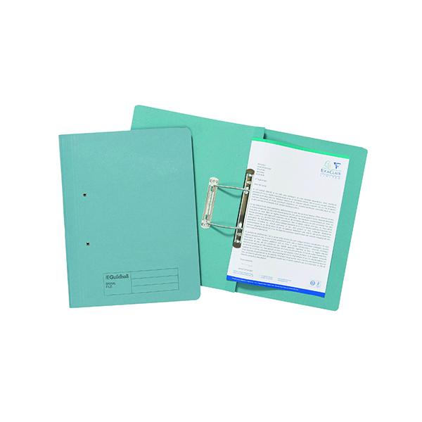 Exacompta Guildhall Transfer File 285gsm Foolscap Blue (25 Pack) 346-BLUZ