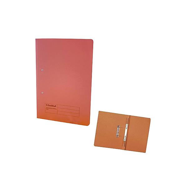 Exacompta Guildhall Transfer File 285gsm Foolscap Orange (25 Pack) 346-ORGZ
