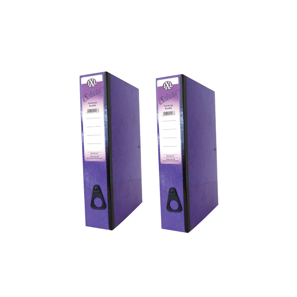 Foolscap (Legal) Size Concord IXL Selecta Box File Foolscap Purple (10 Pack) BOGOF JT816015