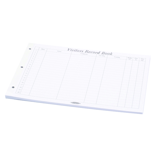 Unspecified Concord Visitors Book Refill 50 Sheets (50 Pack) 85801/CD14P
