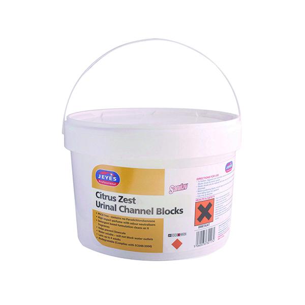 Jeyes Urinal Channel Blocks Citrus 3kg 541015