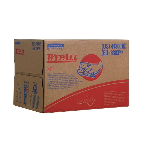 Wypall X70 Wiper Box 1-Ply White 150 Sheets 8383