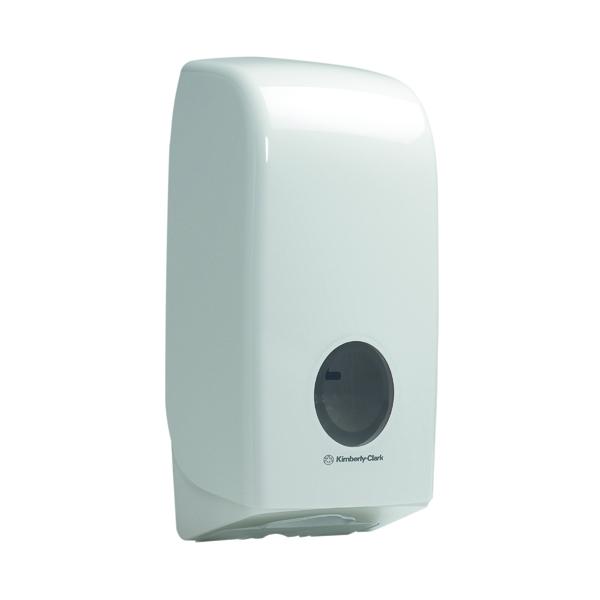 Sheet Aquarius Bulk Pack Toilet Tissue Dispenser White 6946