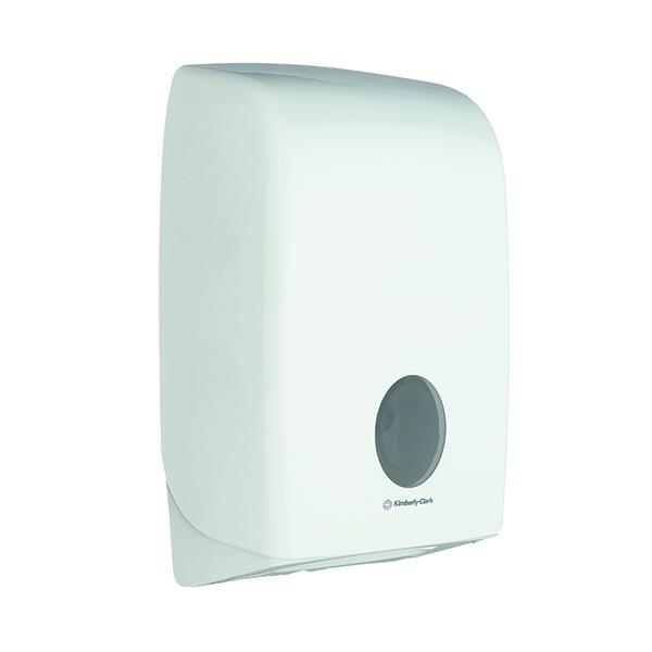 Hand Towels & Dispensers Aquarius Folded Hand Towel Dispenser White 6945