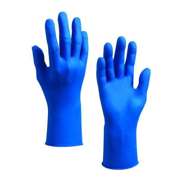 Kleenguard G10 Arctic Blue Safety Large Gloves (200 Pack) 90098