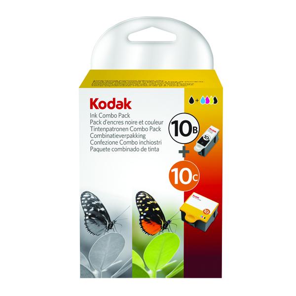 Kodak 10B/10C Black/Colour Inkjet Cartridges (2 Pack) 3949948