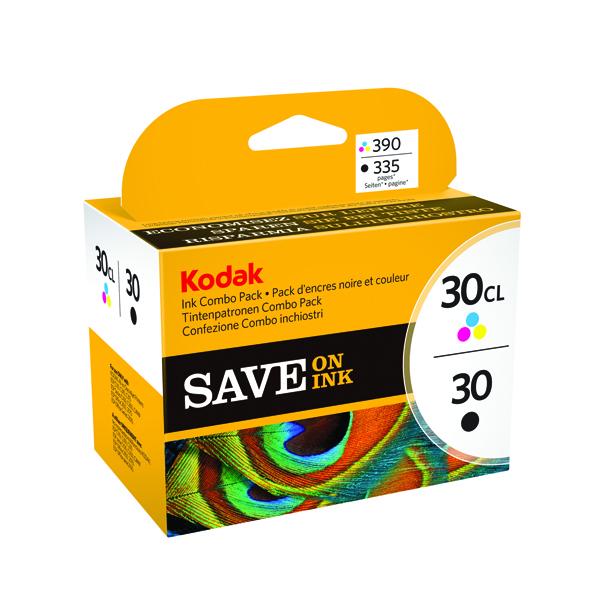 Kodak 30B/30C Black/Colour Inkjet Cartridges (2 Pack) 8039745