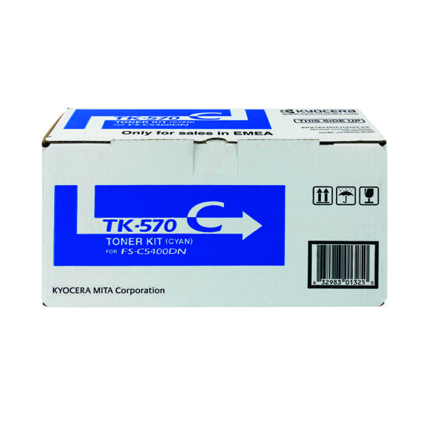 Kyocera Cyan TK-570C Toner Cartridge