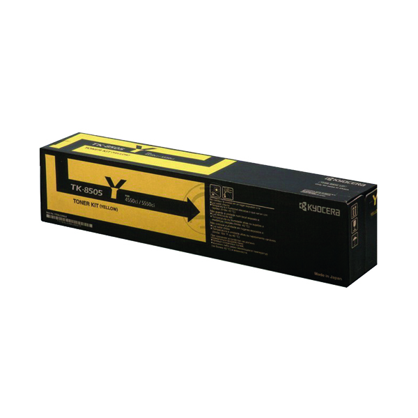 Kyocera Yellow TK-8505Y Toner Cartridge