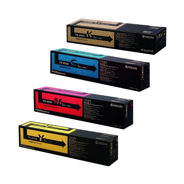 Kyocera Cyan TK-8505C Laser Toner Cartridge 1T02LCCNLO
