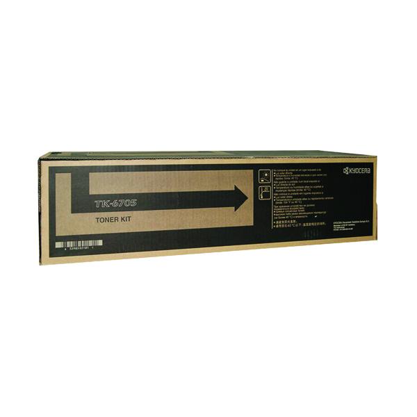 Kyocera Black TK-6705 Toner Cartridge