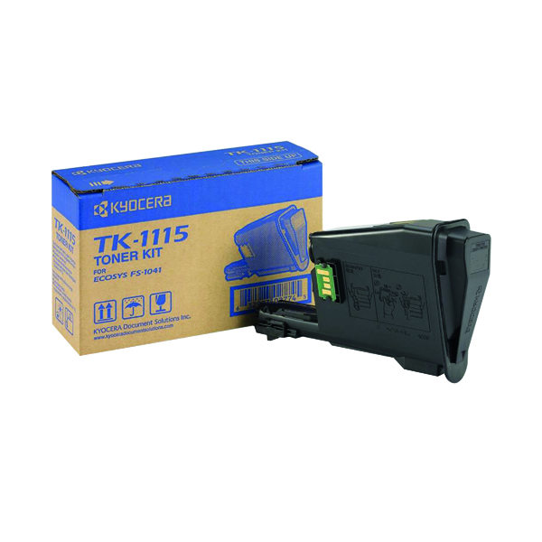 MultiColour Kyocera Black TK-1115 Toner Cartridge