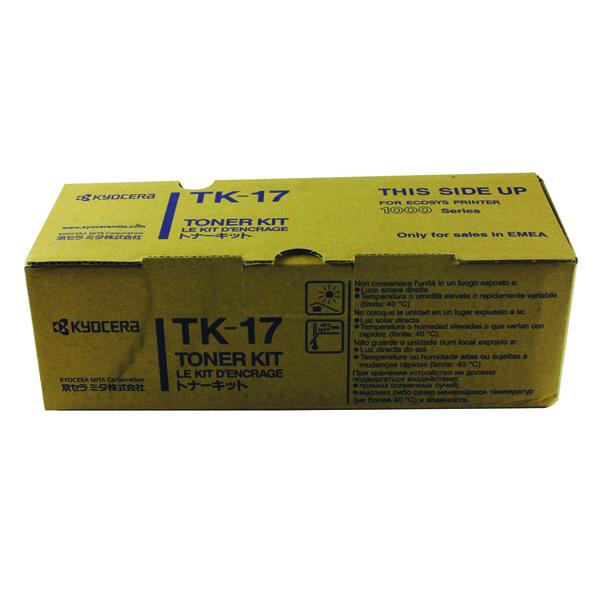 Kyocera Black TK-17 Toner Cartridge