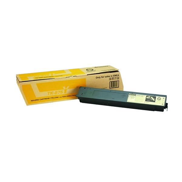 Kyocera Yellow Laser Toner Cartridge TK-875Y