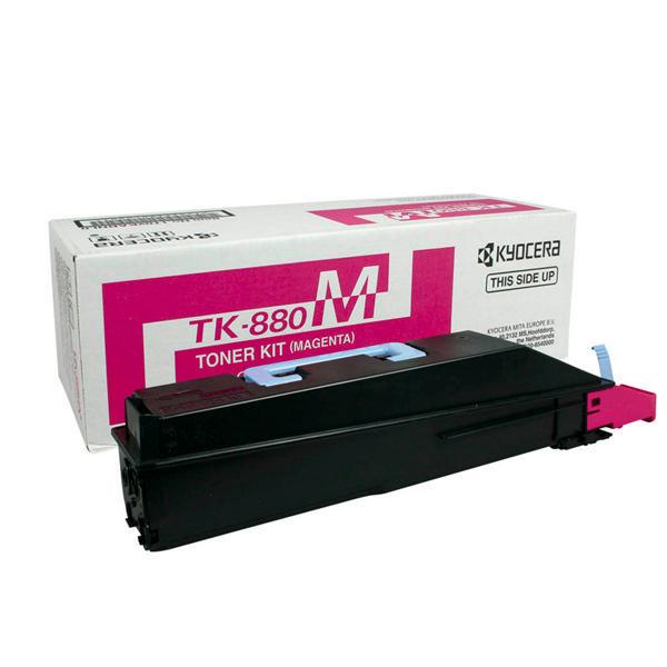 Kyocera Magenta TK-880M Toner Cartridge