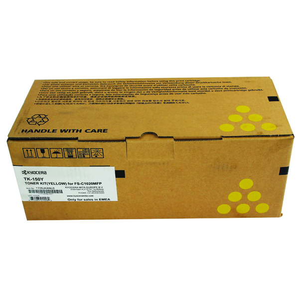 Kyocera Yellow TK-150Y Toner Cartridge