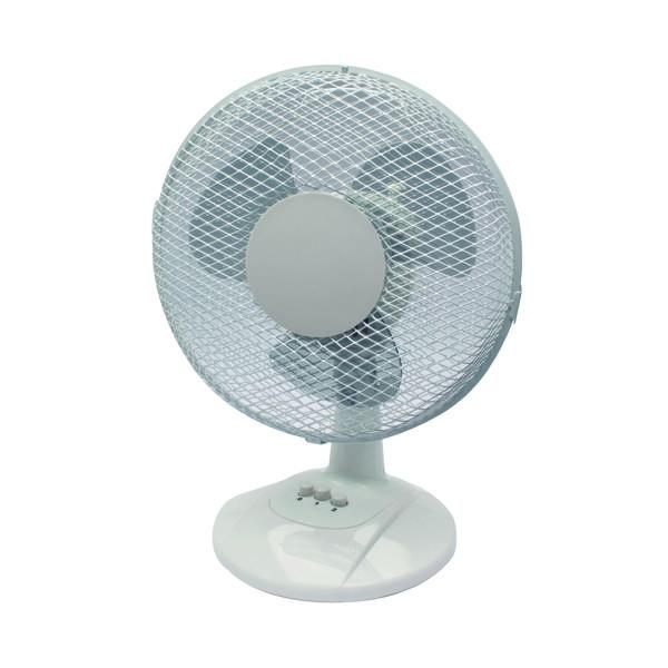 Desk Fans Q-Connect 2-Speed 230mm/9 Inch Desktop Fan KF00402