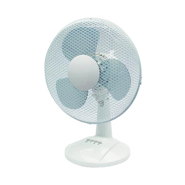Desk Fans Q-Connect 300mm/12 Inch Desktop Fan KF00405