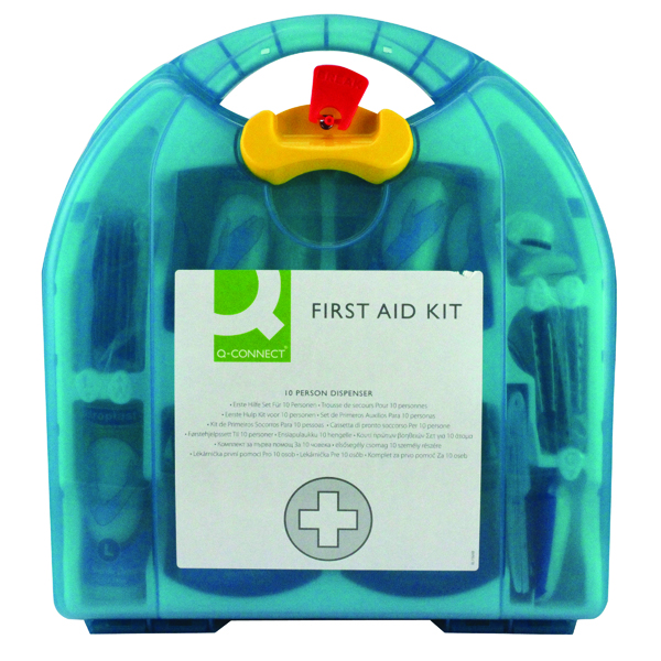 Equipment Q-Connect 10 Person First Aid Kit 1002451