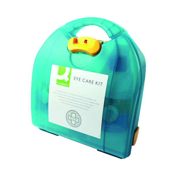 Equipment Q-Connect Eye Wash Kit With 2x500ml Eyewash 1006088