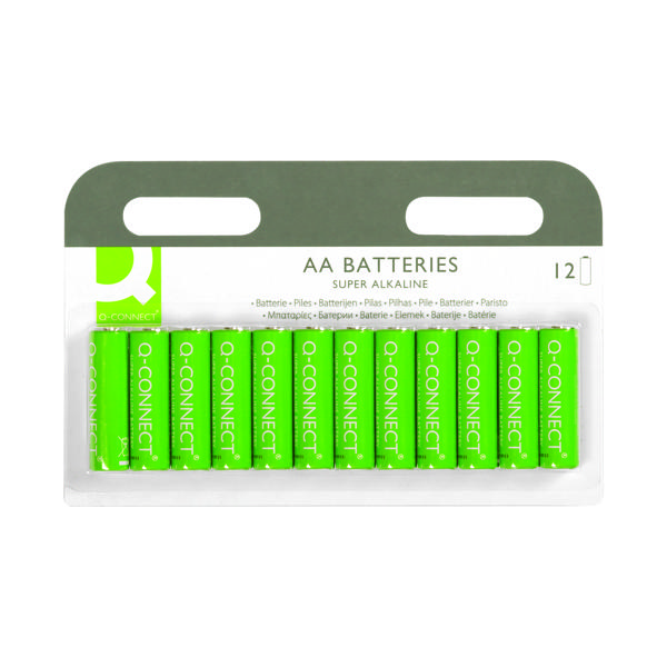 AA Q-Connect AA Battery (12 Pack) KF00644