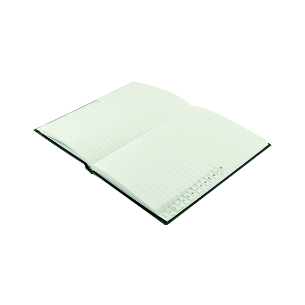 Q-Connect Casebound Index Notebook 192 Pages A5 KF01064