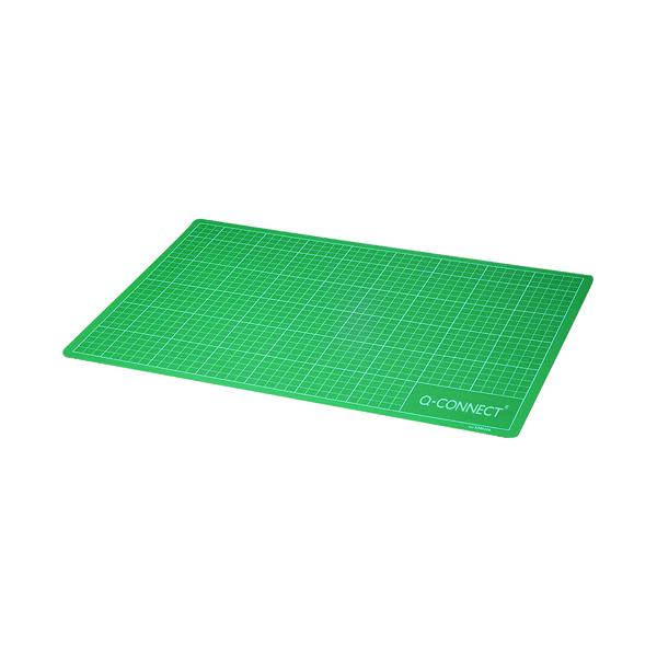 A2 Q-Connect Cutting Mat A2 Green KF01137