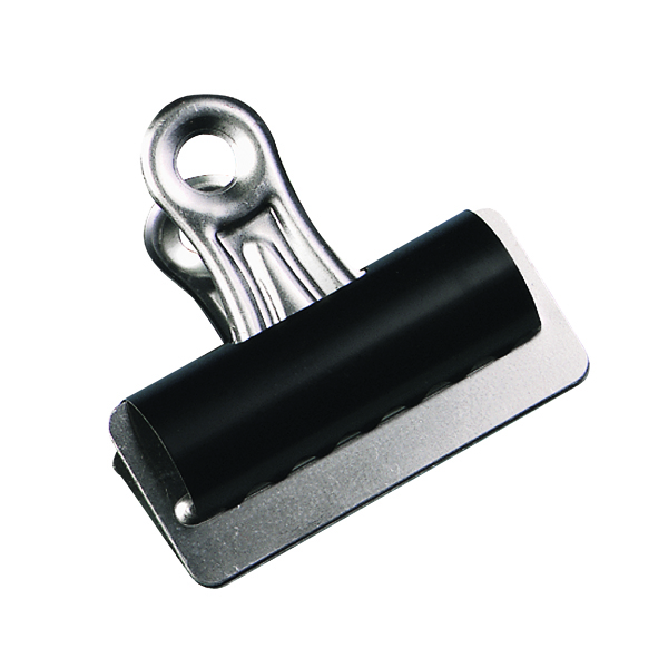 Clips Q-Connect Grip Clip 25mm Black (10 Pack) KF01287