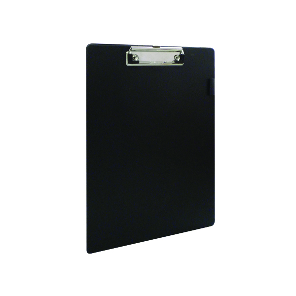 Foolscap (Legal) Q-Connect PVC Single Clipboard Foolscap Black KF01296