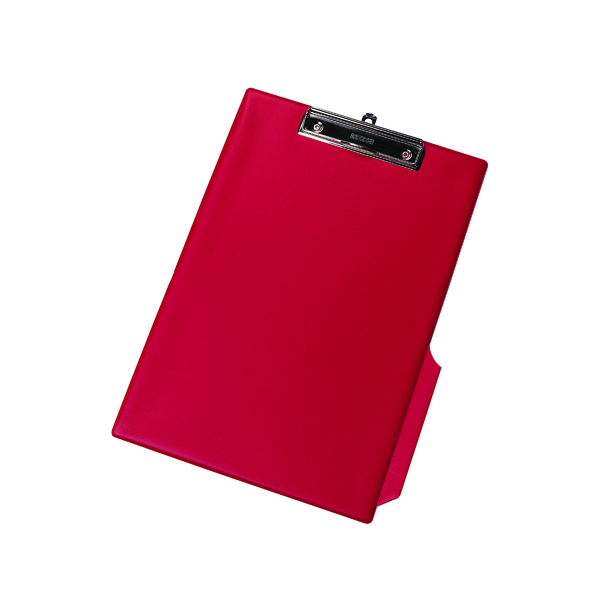 Foolscap (Legal) Q-Connect PVC Single Clipboard Foolscap Red KF01298